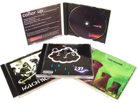 CD duplication in jewel cases