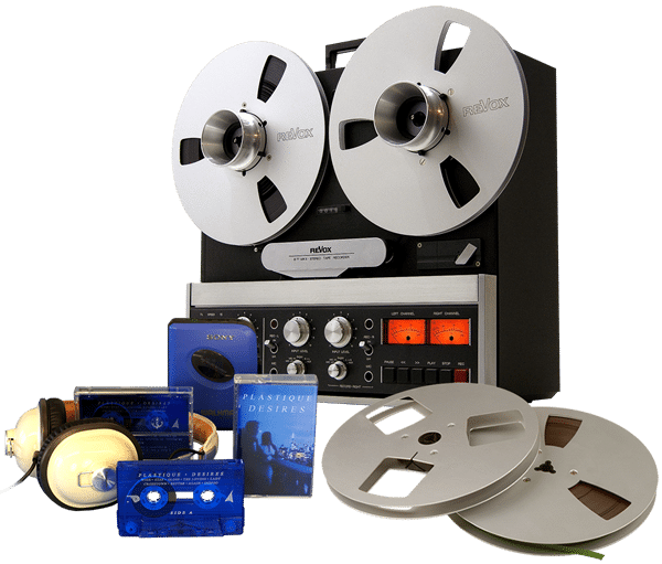pure analogue cassette tape duplication