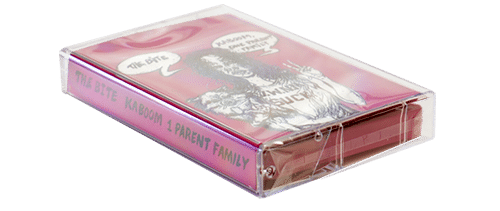 Cassette tape cellophane wrap