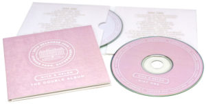 Double CD wedding favour set using a 4 page double pocket wallet