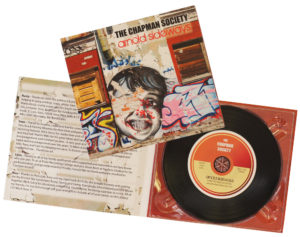 4 page digipack with vinyl CD