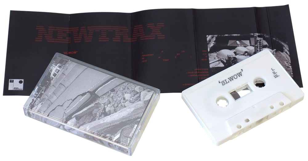 White cassettes with on-body printing and J-cards with three extra panels