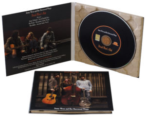 Glass mastered vinyl CDs in Eco digipaks