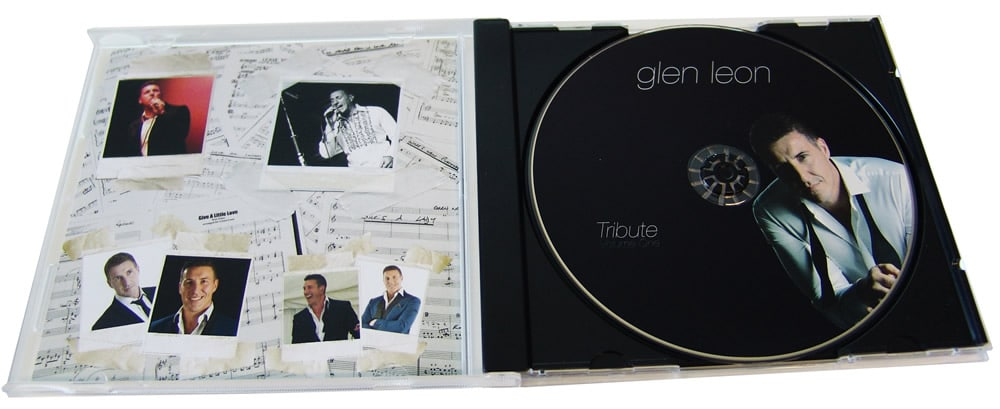 One disc of a pair of CDs where we also produced the artwork