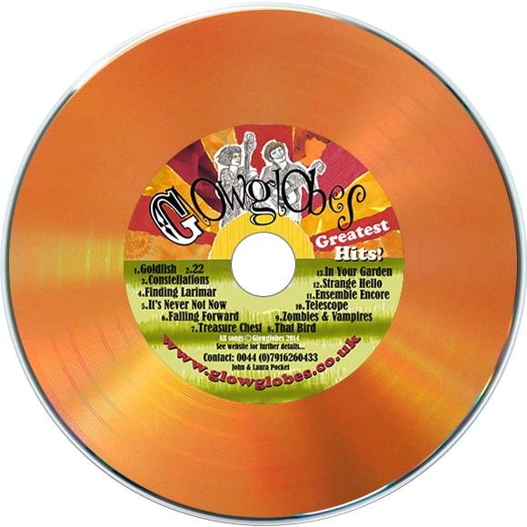 Orange vinyl CD