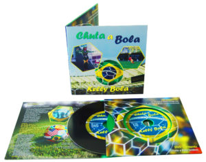 Double vinyl CD set in 4 page double-disc wallets