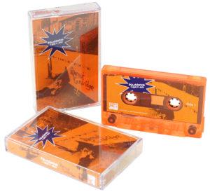 Transparent orange cassettes for Papernut Cambridge