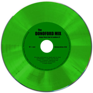 Green vinyl CD