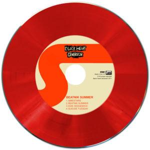 Red vinyl CD