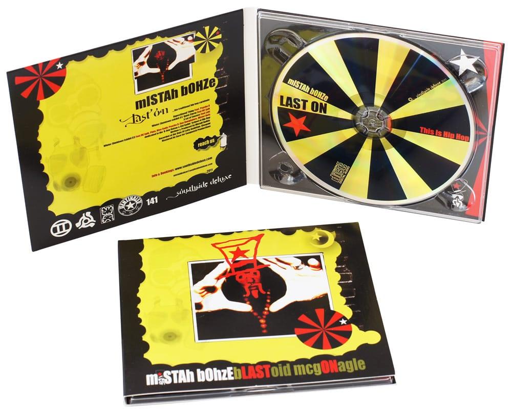 Standard CDs with Thermal Printing in digipaks