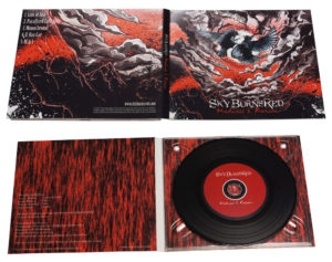 Vinyl CD in full colour printed card digipak