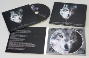 A matching set of both CD singles in full colour printed card wallets and the whole album in a 4 page digipak
