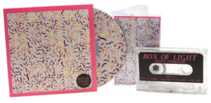 A set of silver glitter cassette tapes in cases with matching CDs in printed card wallets