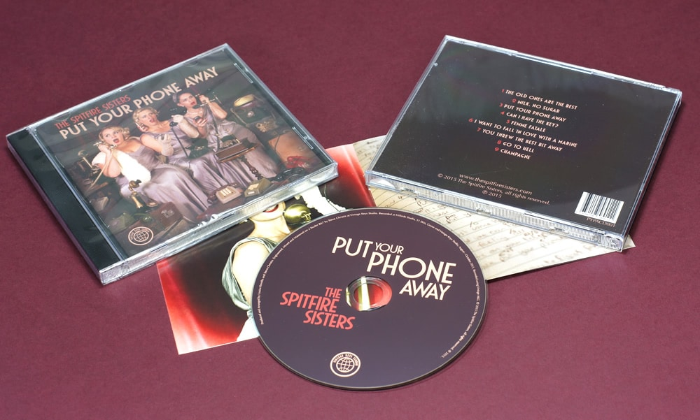 CD duplication in standard jewel cases and slimline jewel cases