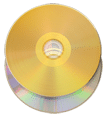 gold vinyl effect CD