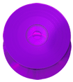 Purple vinyl effect CD