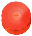 Red vinyl effect CD