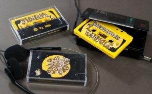 Yellow custard colour 10 Year Tribute Tape - RIP J Dilla