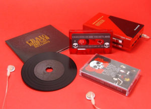 A limited run of matching cassettes and black vinyl-style CDs in digipaks