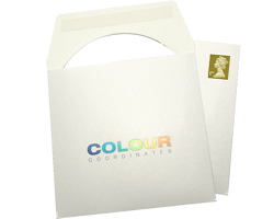 DVD and CD printed card mailers