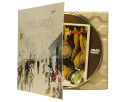 DVDs in printed recycled card Eco digipaks