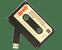Cassette USB memory sticks