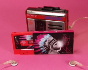 Sticker printed cassettes in full colour printed O-cards