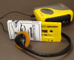 Yellow cassettes with black on-body printing in printed matt O-cards