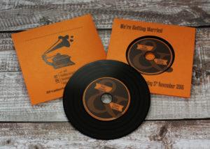 orange-metallic-card-wedding-wallets-vinyl-cds