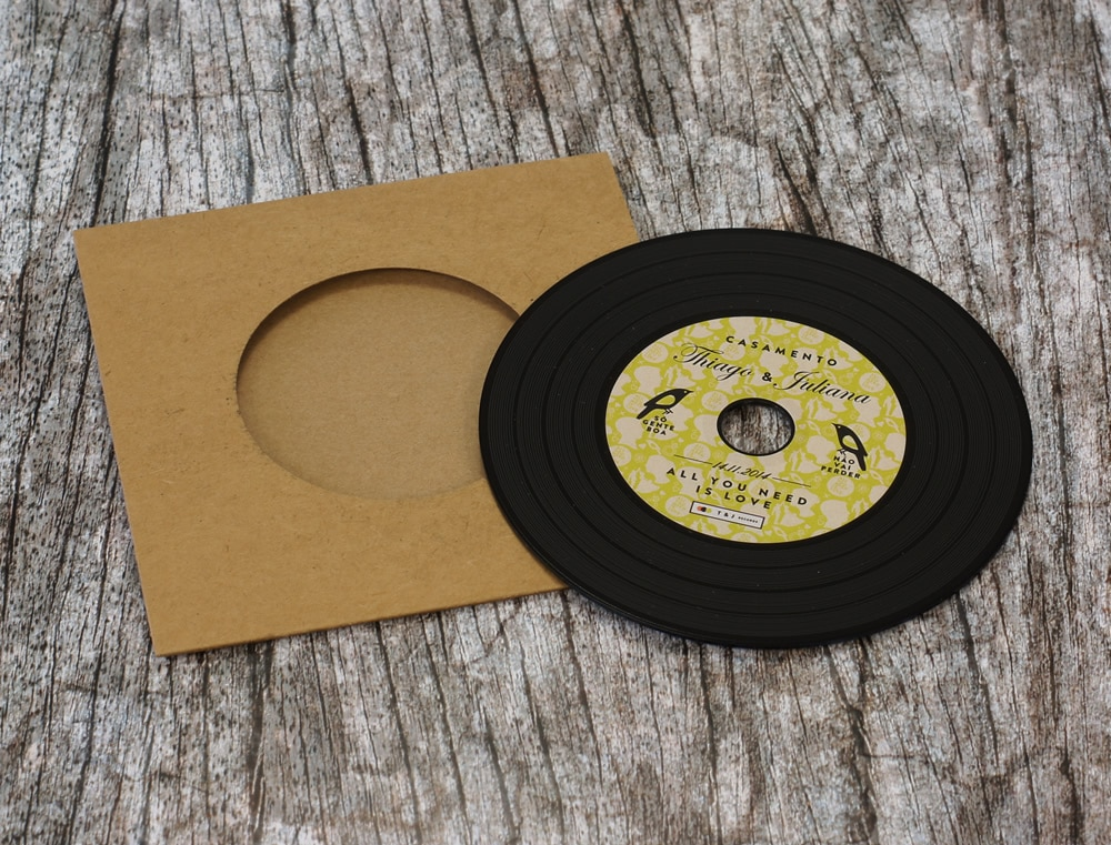 Custom printed wedding favour CDs and wedding invitation CDs ...