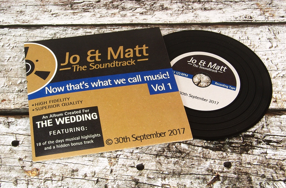 Custom Printed Wedding Favour Cds And Wedding Invitation Cds Band Cds