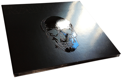 Clear gloss spot UV printing on CD digipaks