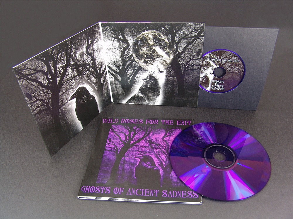 Purple Vinyl CDs in 4 Page Premium Wallets