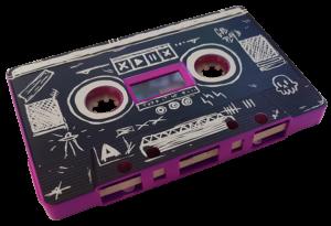 Full coverage, full colour cassette printing