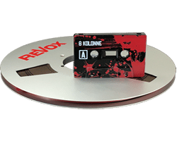 Reel to Reel Analogue Cassette Tape Duplication