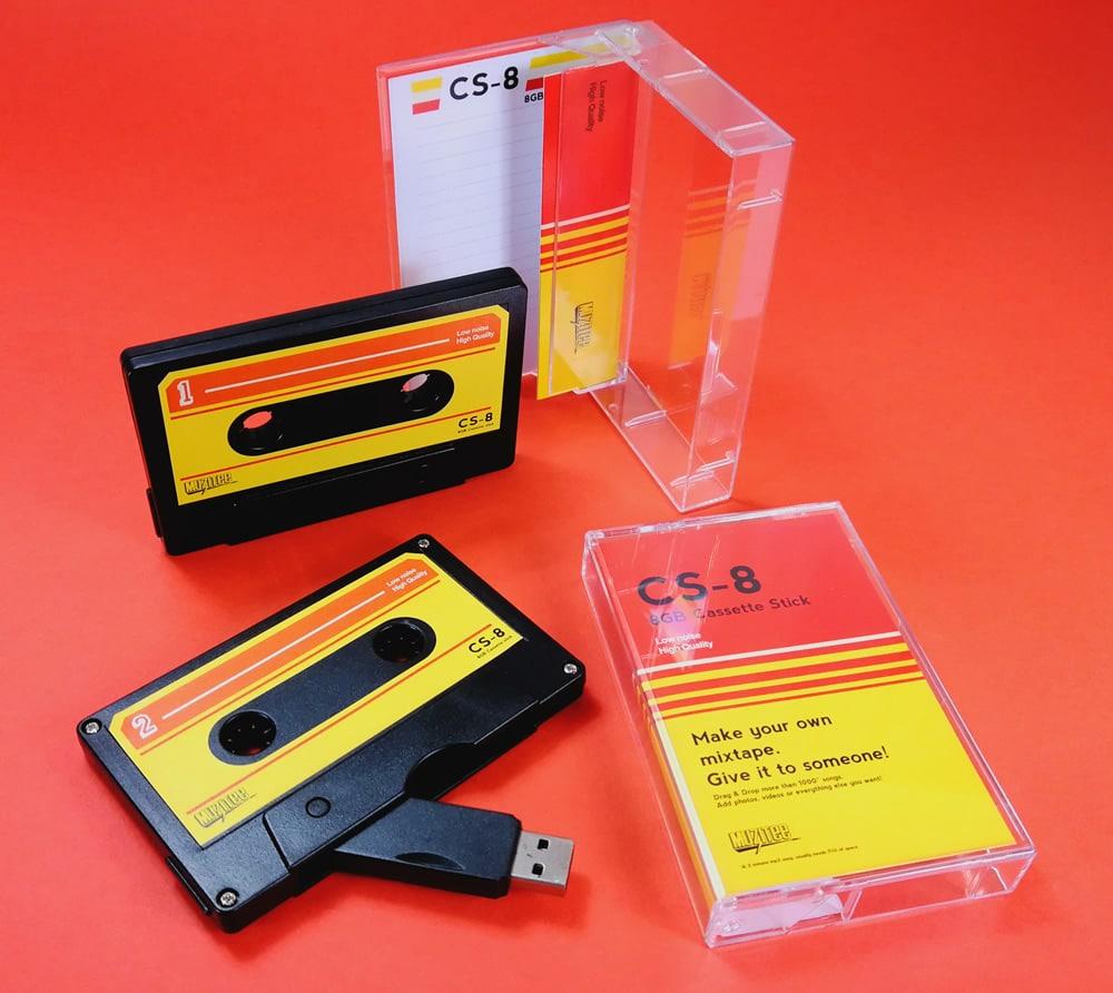 Make your own mixtape USB cassette drives
