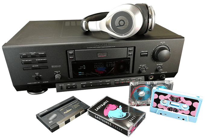 Cassette Tape Duplication from DCC Digital Compact Cassette