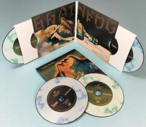 Double vinyl CD set in oversize gatefold wallets