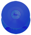 Blue vinyl effect CD