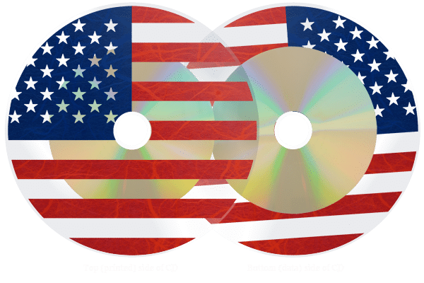 Transparent CDs