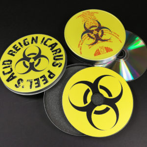 CD tins with full colour lid and base printing
