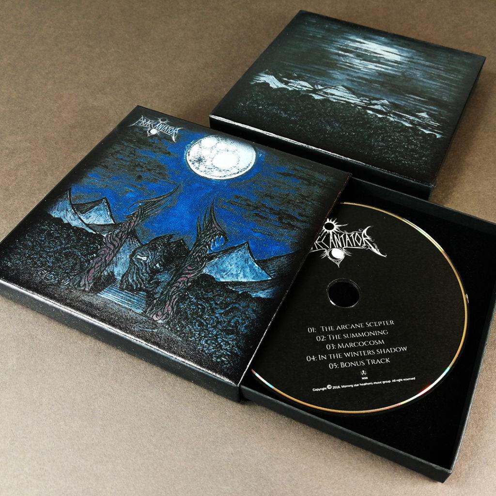 Full colour printed matchbox CD boxsets