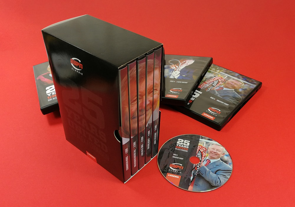 DVDs in multidisc set