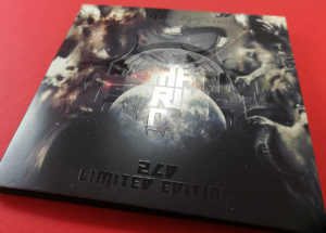 Full colour printed CD wallets with spot gloss UV LED printing