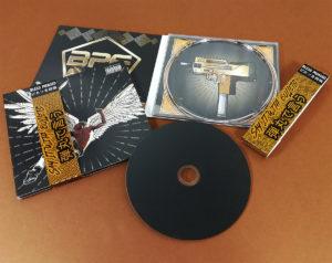 4 page printed card CD digipaks with printed obi strips