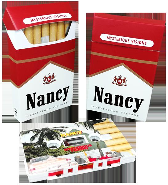 Cigarette-style cassette tape cases