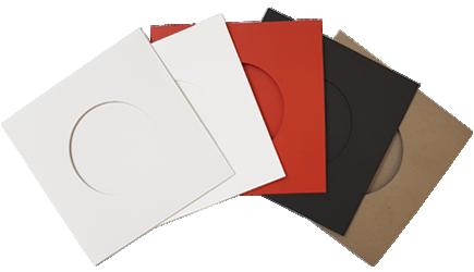 Record-style vinyl CD wallet options