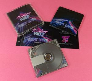 Full colour printed duplicated MiniDiscs