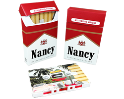 Tapes in cigarette pack cases