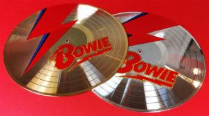 UV LED printed David Bowie